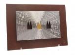 KB1-3 Kreuzschliff mit Hintergrundplatte 20x28cm