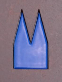 Pulverbeschichtet Mitternachtsblau