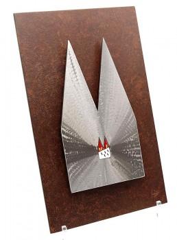 KBS1-4-1 Kreuzschliff mit Hintergrundplatte 21x34cm